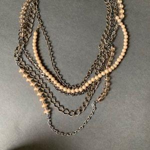 Premier Designs Multistrand Necklace Copper finish